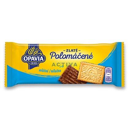 Obrázek produktu Opavia Zlaté - polomáčené sušenky mléčné, 100 g