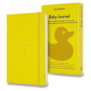 Zápisník Moleskine Passion Baby Journal - tvrdé desky