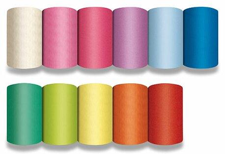 Obrázek produktu Dárkový balicí papír Kraft Light - 2 x 0,7 m, mix barev