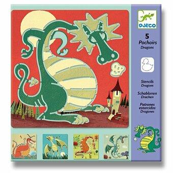 Obrázek produktu Šablony Djeco - Draci
