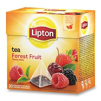Černý čaj pyramida Lipton Forest Fruit Tea