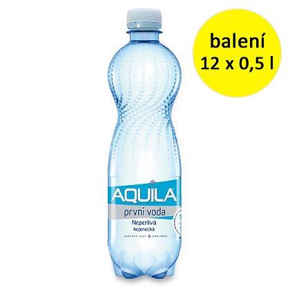 Obrázek produktu Aquila - neperlivá voda - 12 × 0,5 l