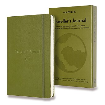 Obrázek produktu Zápisník Moleskine Passion Travel Journal - tvrdé desky - L, khaki