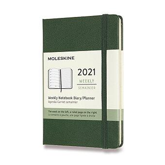 Obrázek produktu Diář Moleskine 2021 - tvrdé desky - S, týdenní, výběr barev