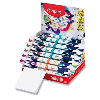 Obrázek produktu Kuličková tužka Maped Twin Tip 4 - Fancy - stojánek