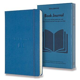 Obrázek produktu Zápisník Moleskine Passion Books Journal - L, modrý