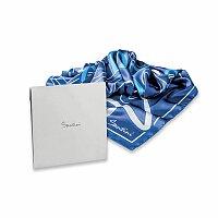 SANTINI LADIOSA - šátek SANTINI, modrá