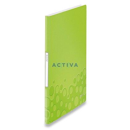 Obrázek produktu Leitz Wow - katalogová kniha - 40 kapes, zelená