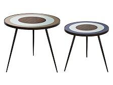 Stolek Ethnicraft Bullseye Side Table