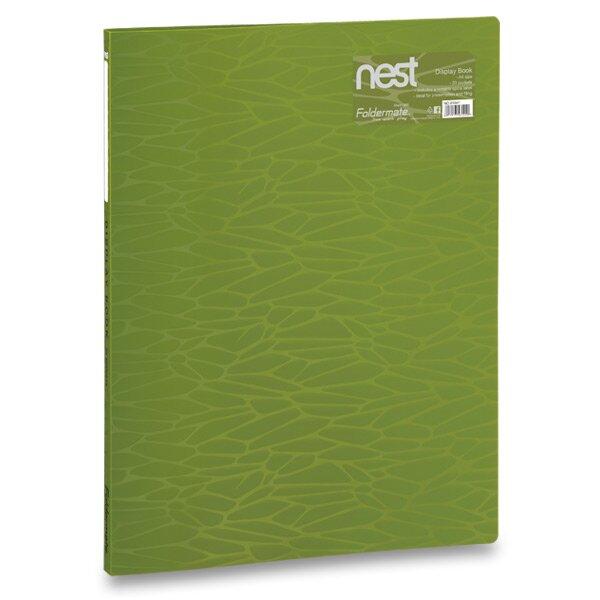 Katalogová kniha FolderMate Nest olivově zelená
