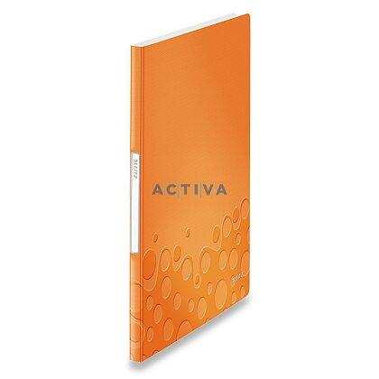 Obrázek produktu Leitz Wow - katalogová kniha - 20 kapes, oranžová
