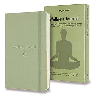Zápisník Moleskine Passion Wellness Journal - tvrdé desky
