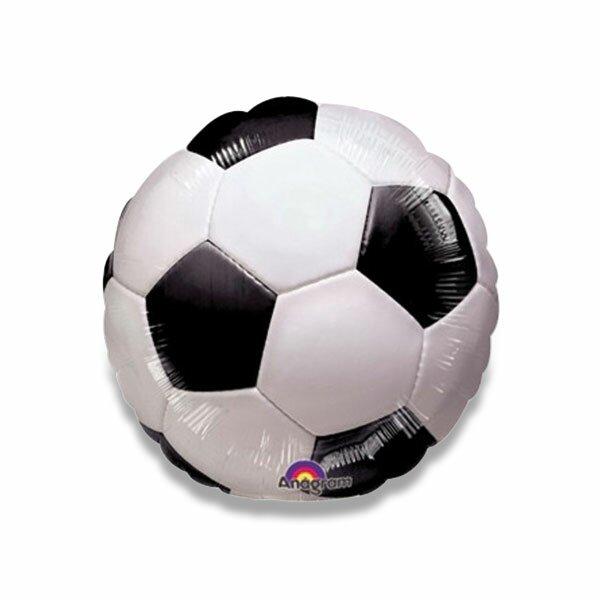 Fóliový party balónek kulatý fotbalový míč