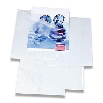 Obrázek produktu Samolepicí laminovací kapsa A4 - 80 mikronů, 100 ks, čirá