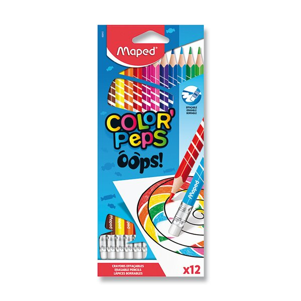 Pastelky Maped Color'Peps Oops 12 barev
