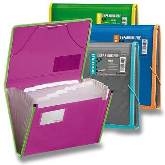 Obrázek produktu Desky na dokumenty FolderMate Pop Gear Plus - A4, s přihrádkami, výběr barev