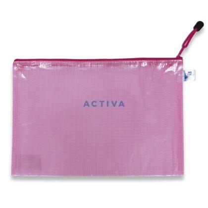 Obrázek produktu PP - ZIP obálka - A4, růžová, 5 ks