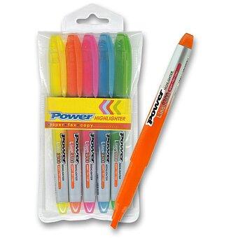 Obrázek produktu Zvýrazňovač Power - sada 5 barev