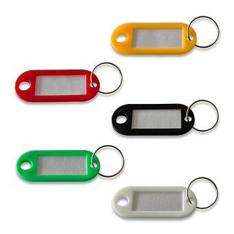 Obrázek produktu Jmenovka na klíče ConmetRON - mix barev, 100 ks