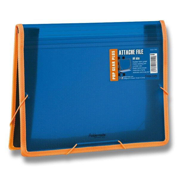 Desky na dokumenty FolderMate Pop Gear Plus modrá