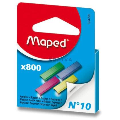 Obrázek produktu Maped No. 10 - barevné drátky do sešívačky
