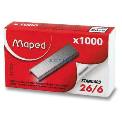 Obrázek produktu Maped 26/6 - drátky do sešívačky