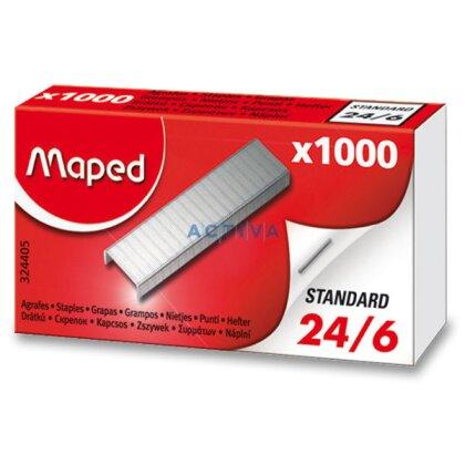 Obrázek produktu Maped 24/6 - drátky do sešívaček