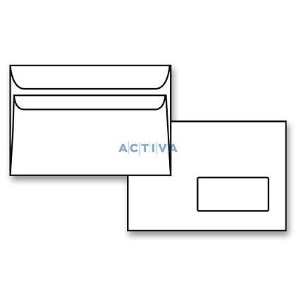 Obrázek produktu Krpa - obálka - C5, samolepicí s okénkem dole, 1000 ks