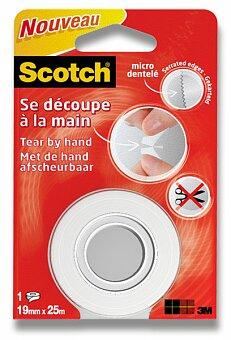 Obrázek produktu Páska odtržitelná rukou Scotch - 19 mm šíře x 25 m návin