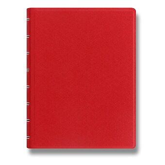 Obrázek produktu Zápisník A5 Filofax Notebook Saffiano - červený