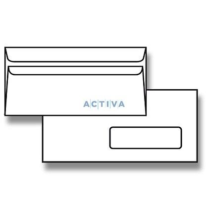 Obrázek produktu Krpa - obálka - DL, samolepicí s okénkem vpravo, 1000 ks