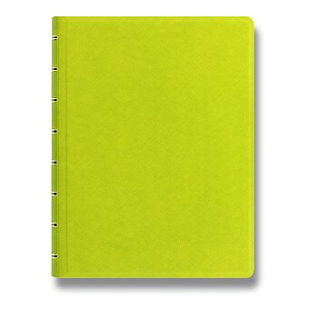 Obrázek produktu Zápisník A5 Filofax Notebook Saffiano - limetkový