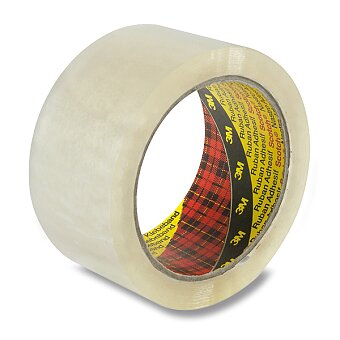 Obrázek produktu Samolepicí nehlučná páska Scotch - 50 mm x 66 m, transparentní