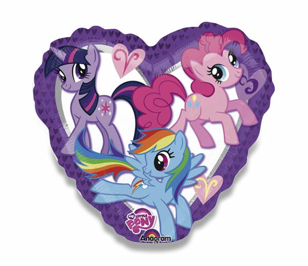 Fóliový party balónek kulatý My Little Ponny