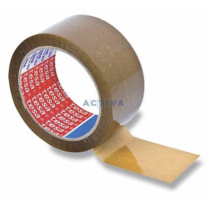 Obrázek produktu Tesa - nehlučná balicí páska - 50 mm × 66 m, hnědá