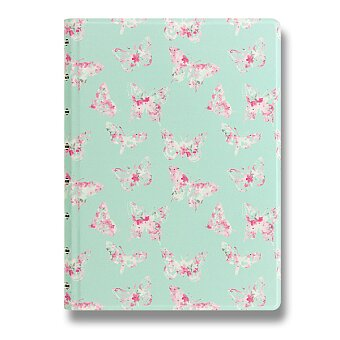Obrázek produktu Zápisník A5 Filofax Notebook Butterflies