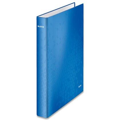 Obrázek produktu Leitz Wow - 4kroužkový pořadač - A4, 40 mm, modrý