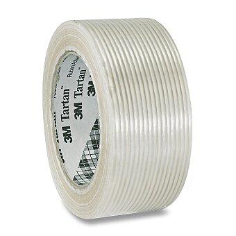 Obrázek produktu Balicí vyztužená páska Aero Tartan - 50 mm x 50 m, transparentní