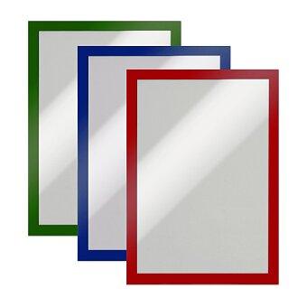 Obrázek produktu Samolepící Informační rám Durable Duraframe A4 - formát A4, 2 ks, výběr barev