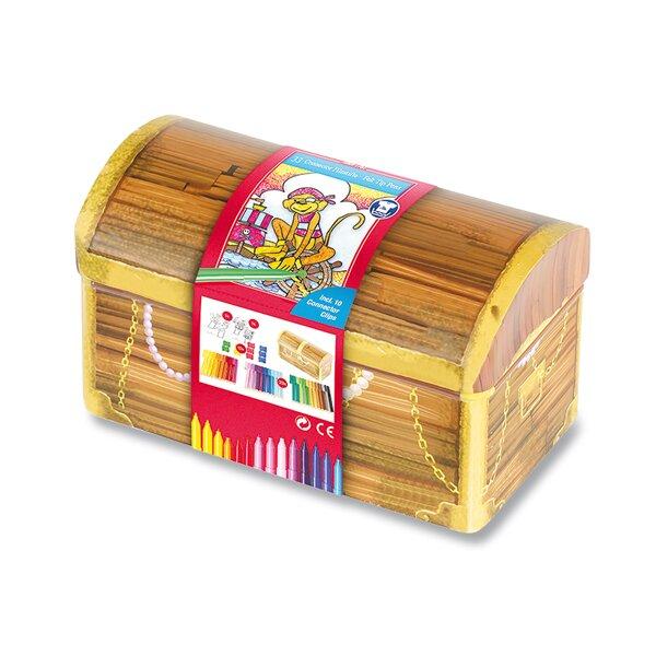 Dětské fixy Faber-Castell Connector truhla, 33 barev