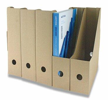 Obrázek produktu Kartonový otevřený box Hit - hřbet 80 mm, 5 ks
