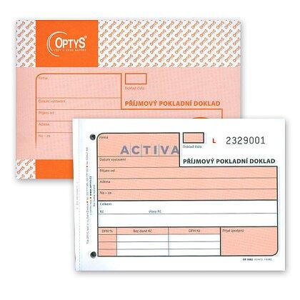Obrázek produktu Optys - příjmový pokladní doklad - číslované listy