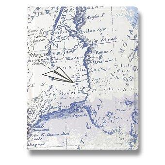 Obrázek produktu Zápisník A5 Filofax Notebook Retro Map