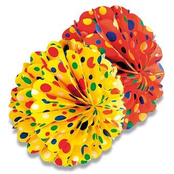 Obrázek produktu Papírová koule Honey - průměr 28 cm, mix barev