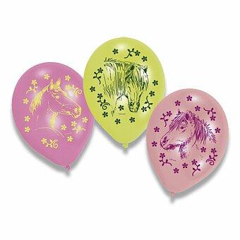 Obrázek produktu Nafukovací balónky Charming Horses - 6 ks