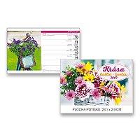 Stolní kalendář Krása květin