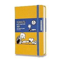 Diář Moleskine 2021 Peanuts - tvrdé desky
