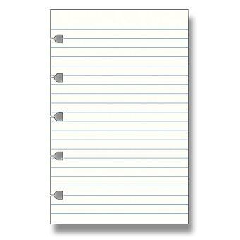 Obrázek produktu Linkovaný papír - náplň kapesních zápisníků Filofax Notebook
