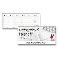 Stolní kalendář Poznámkový kalendář