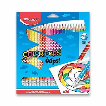 Obrázek produktu Pastelky Maped Color'Peps Oops - 24 barev